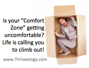 Our uncomfortable comfort zone.