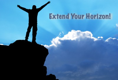 Extend your 3 horizons to really thrive.