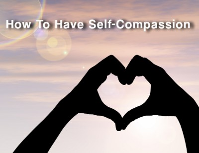 Self-compassion is more important than self-confidence or self-esteem in having a thriving life.