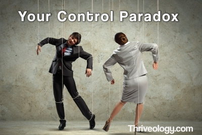 How to solve the Control Paradox.