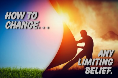 Here's how to change your limiting beliefs and get unstuck.