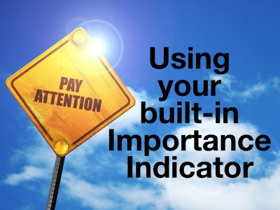 Your Built-In Importance Indicator