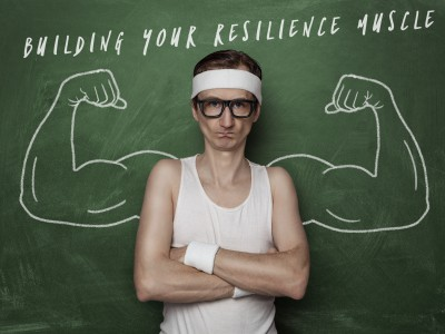 Building your resilience muscle.