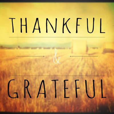 Be thankful. Be grateful. Shift mindsets and thrive. 4 ways to focus on gratitude.