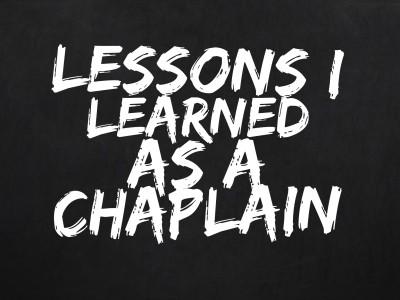 LessonsLearnedChaplain