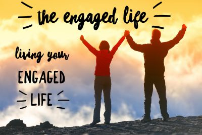 How to live an engaged life.  Find wellness, joy, and creativity as a way of fully engaging in life.