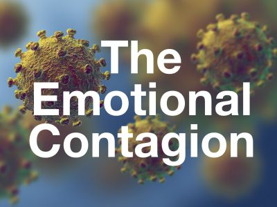 How to avoid being infected by the emotional contagion of fear and anxiety, especially during the coronavirus pandemic.  Special coronavirus podcast episode.