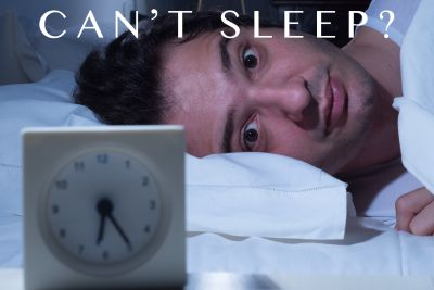 When you can't sleep.  5 strategies for getting better sleep.