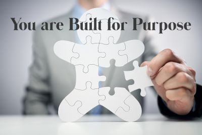 You are built for purpose.  Live it out!