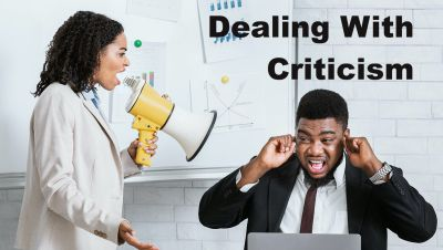 Dealing With Criticism and Making Feedback Helpful.